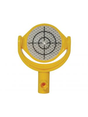 Tilting Reflector Target with Printed Crosshair