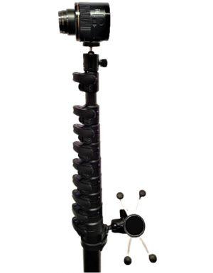 10m Carbon Fibre clamp lock pole