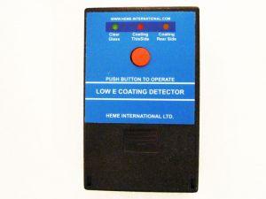 heme low e coating detector