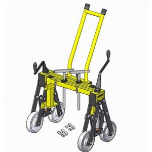 Kobus Manhole Cover Lifter with Trolley Handle