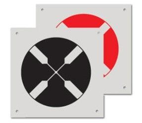 RSL532 Ground Control Targets With Circle Target (Pack of 10)