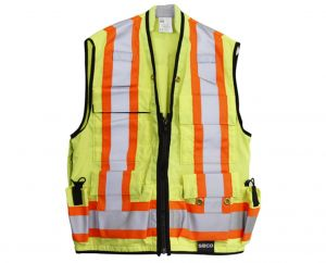 Safety Utility Vest ( Size M )