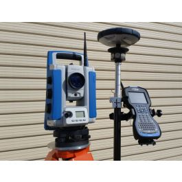 Combined Total Station Amp Gps Package
