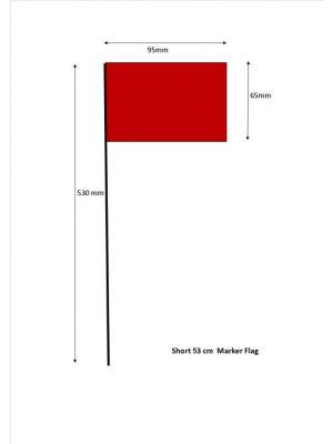 53cm Flag Markers - Bundle of 100