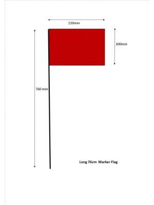 76cm Flag Markers - Bundle of 100